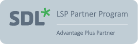 SDL LSP Partner badge Advantage Plus
