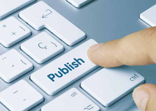 Publish Button on Keyboard